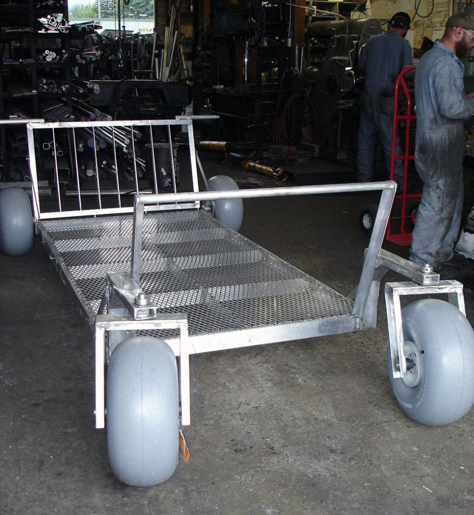 Custom Built Beach Cart