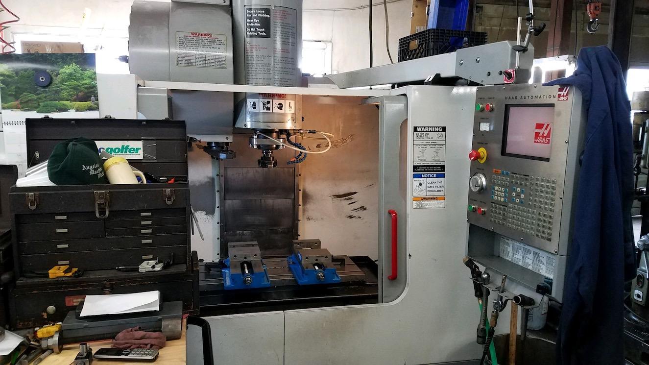 Machine Capabilities - Angeles Machine Works, Inc